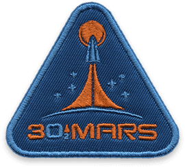 30ToMars Badge